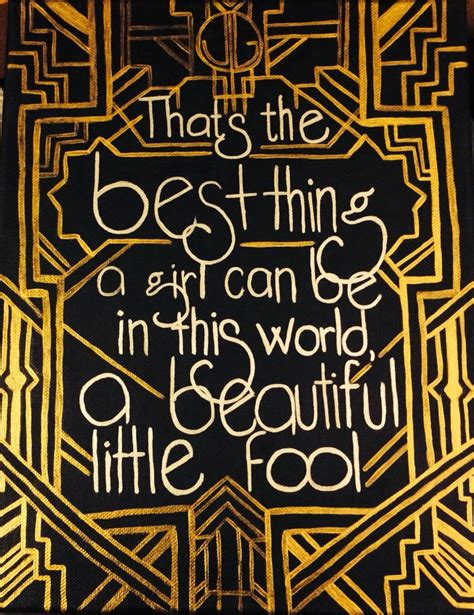gold symbolism in the great gatsby quotes gatsby canvas diy crafting black and gold the