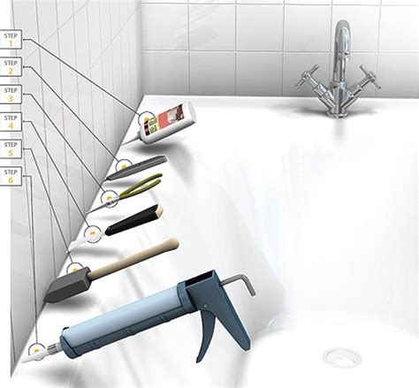 how caulk bathtub how to remove caulk in 6 easy steps