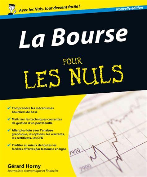 La Bourse Pour Les Nuls Pdf 224 T 233 L 233 Charger Gratuitement