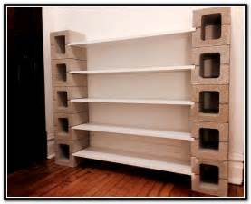 cinder block shelves home design ideas
