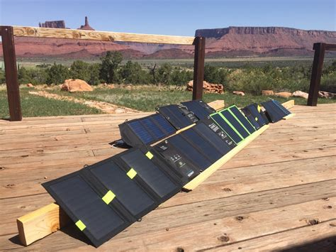 best portable solar panel best portable solar panels and chargers of 2017