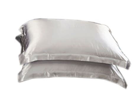 Comfy Bed Pillows by Summer Silk Satin Soft Pillow Cases Standard Bed