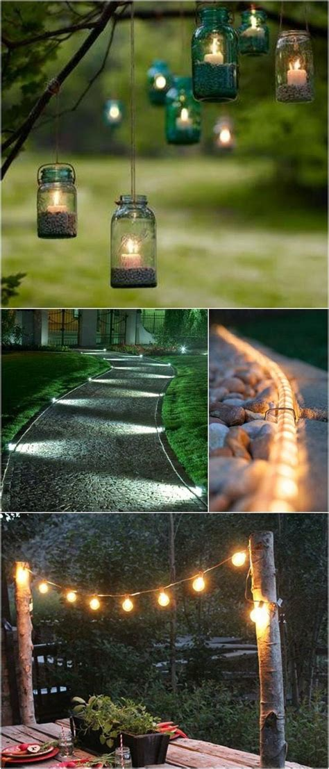 Diy Landscape Lighting Do It Yourself Landscape Lighting 15 Ideas For Diy Outdoor Lighting Diy Craft Projects Www