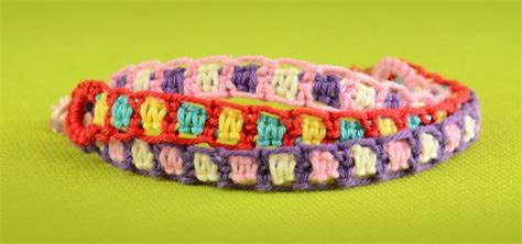 make easy friendship bracelets using square knot 171 jewelry
