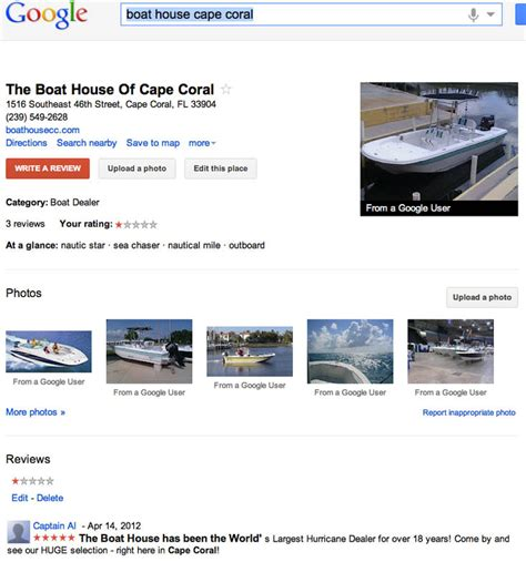 boat dealers cape coral ripoff report boat house of cape coral complaint review