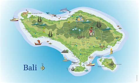 map of bali pz c bali map
