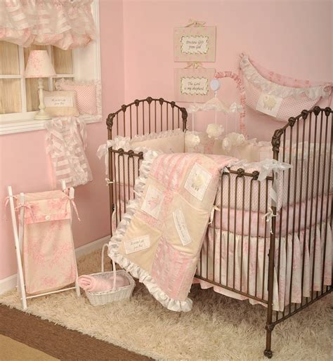 Heaven Sent Crib Bedding Baby Bedding For Girls Pink Crib Bedding Nursery