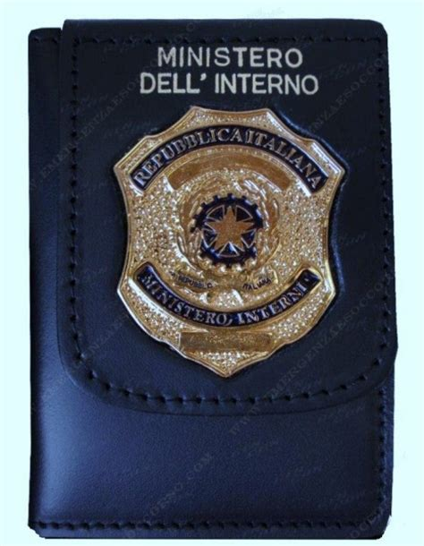 ministero interno polizia stradale distintivi palette