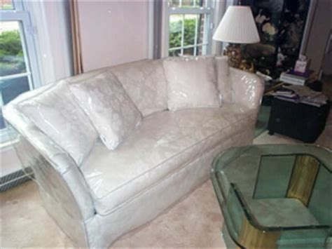 Plastic Covered Sofa by Bed Bugs Bed Bug Etiquette For Home Entertaining