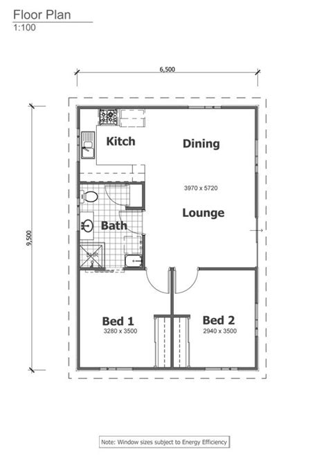 1 bedroom floor plan granny flat retreat grannyflat floorplan the granny flats