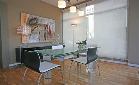 Maravillosa  Que Poner Encima Mesa Comedor #9: Comedor-con-mesa-de-cristal.jpg