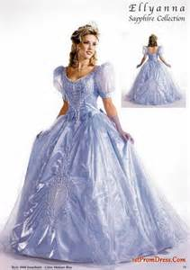 2010 fall quin blue princess ball gowns