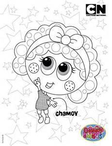 colorear chamoy distroller cartoon network