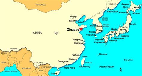 qingdao map qingdao china discount cruises last minute cruises
