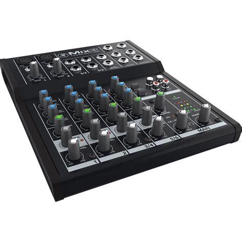 Mixer 8 Channel Bekas mackie mix8 8 channel compact mixer mix8 b h photo
