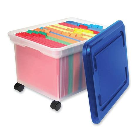 plastic filing storage filing storage files boxes 1330406 innovative