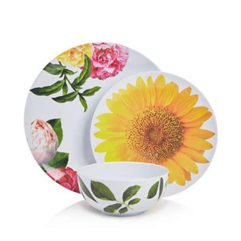 bloomingdales patio furniture kate spade patio floral melamine dinnerware collection