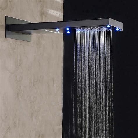 shower doccia doccia rubbed bronze wall mounted shower set with