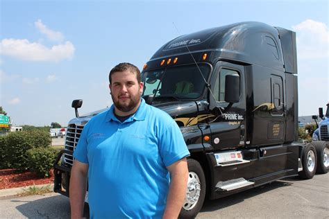 prime news prime inc truck driving school truck