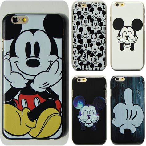 Casing Hardcase Hp Iphone 6 Plus Mickey Mouse Wallpaper X4310 n ew fashion mickey mouse painted protective for iphone 6 6s plus 7 7