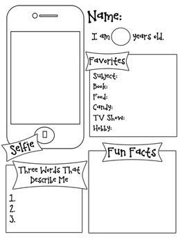 About Me Template For Students by The 25 Best Ideas About All About Me On About
