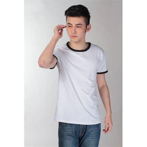 Kaos T Shirt 90s Hitam Import Murah kaos polos katun pria o neck size l 86202 t shirt black jakartanotebook