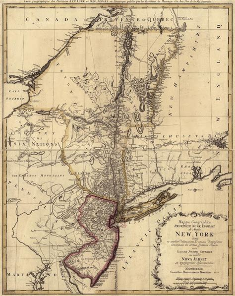 map of new jersey in colonial times new york colony geography and climate