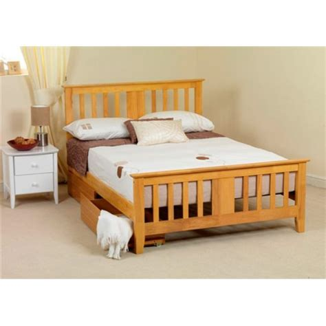 Simple Wooden Bed Frame Simple Wood Bed Frame Ideas Homesfeed