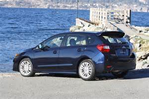 Review Of Subaru Impreza 2015 Drive 2015 Subaru Impreza Driving