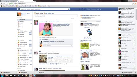 fb home facebook home page