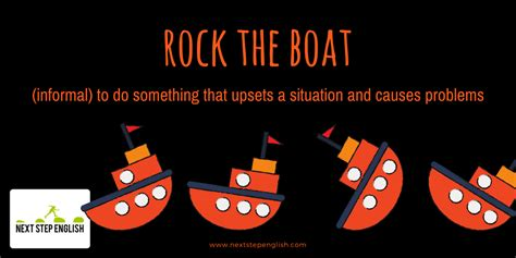 don t want to rock the boat nautical idioms 9 popular idioms with meanings and