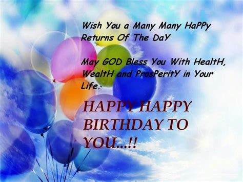 Happy Birthday And God Bless You Wishes 46 Blessing Happy Birthday Wishes God Bless You With