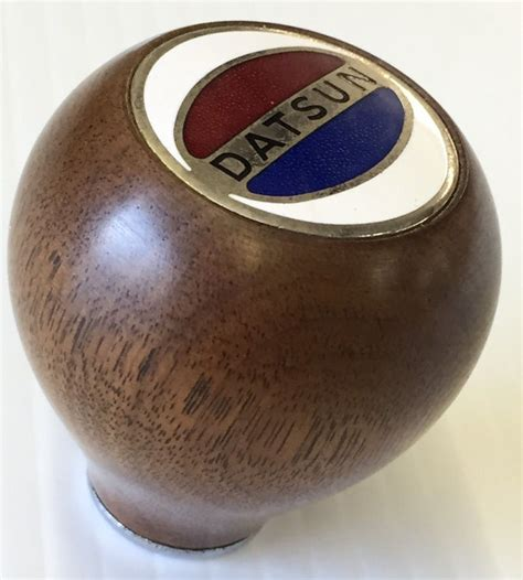 Datsun Shift Knob by Dino Signature 13 5 Steering Wheel And Vintage Datsun