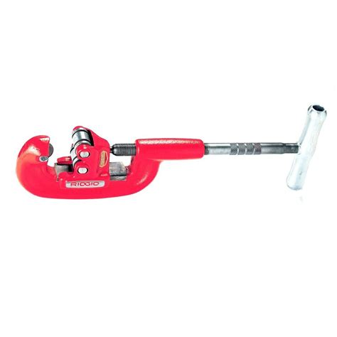 ridgid model 202 wide roll pipe cutter 32895 the home depot