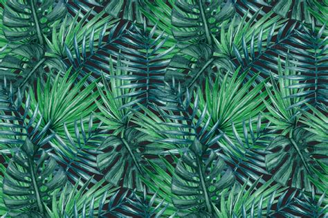 background pattern trees 10 lush palm tree leaves patterns psdblast