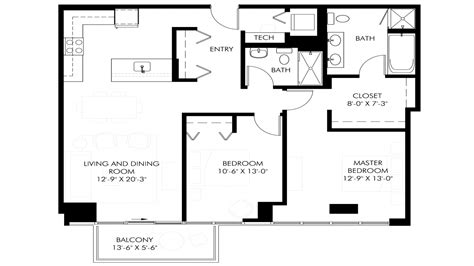 Sq Ft | 2 bedroom bath house plans under 1500 sq ft