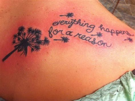 everything happens for a reason tattoo tattoo collections