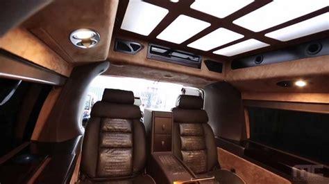 Handmade Interiors - mc customs gmc savana cargo custom interior