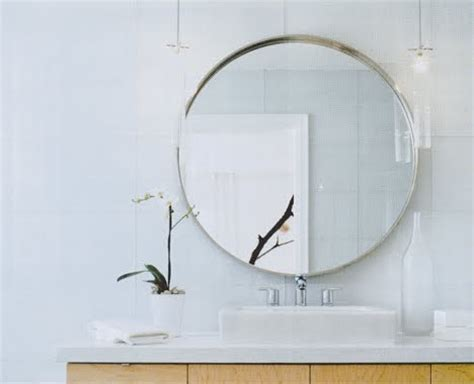 round mirror bathroom round bathroom mirror with shelves simple home decoration