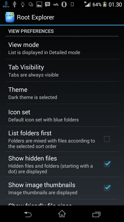 root file browser apk root explorer apk zippy