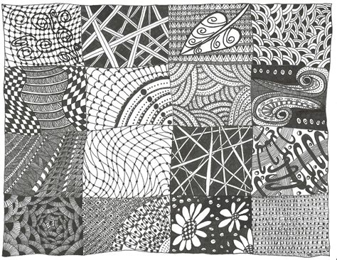 easy zentangle patterns printable all things parchment craft zendoodle sler zentangle