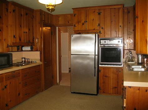 Furniture rustic holic accent kitchen with knotty wood cabinet stylishoms com rustic style