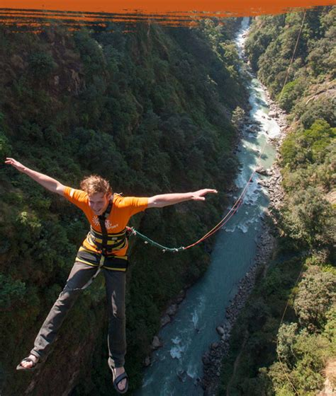 nepal canyon swing canyon swing bridge jump rope swing the last resort in