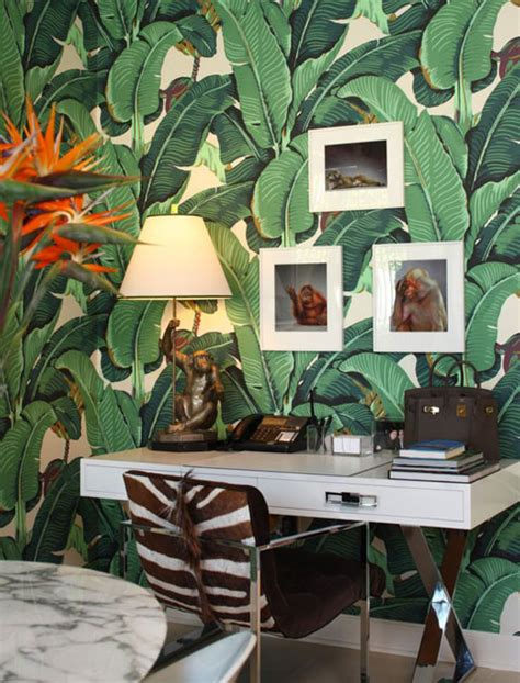 6 ways to decorate with tropical leaf prints purewow