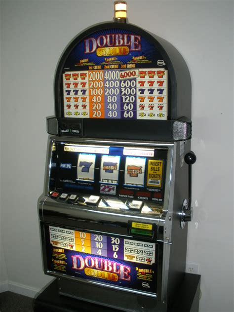 igt double gold  slot machine  sale gamblers oasis usa