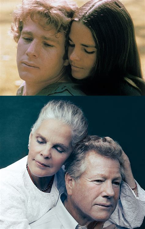 film love story 45 years after love story ali macgraw and ryan o neal