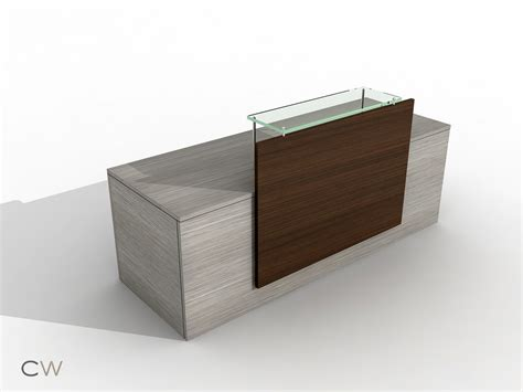 Simple Reception Desk Focus