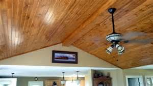 Plank Board Ceiling How To Install A Tongue And Groove Plank Ceiling Apps