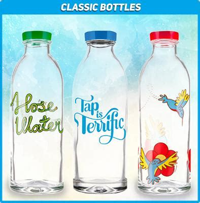 Pepsi Unveils 100 Eco Friendly Bottles by Faucet Stylish And Eco Friendly Glass Water Bottles