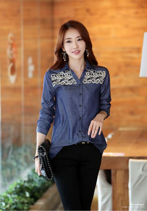 down blouses for 2013 video star travel international down blouses for 2015 korean version autumn spring embroidered lace long